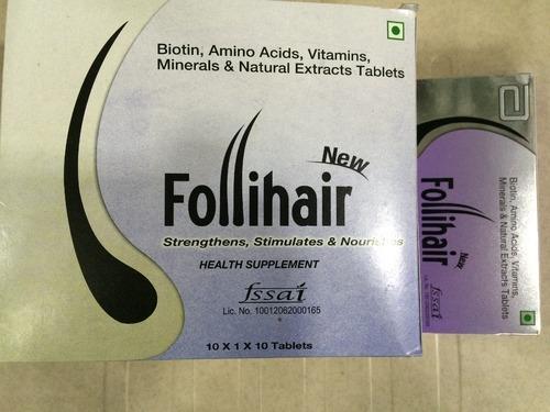 Follihair New Tablets for Hair