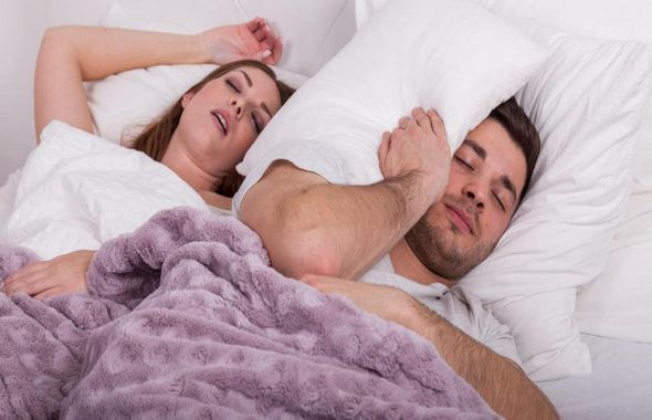 Snoring of your Partner