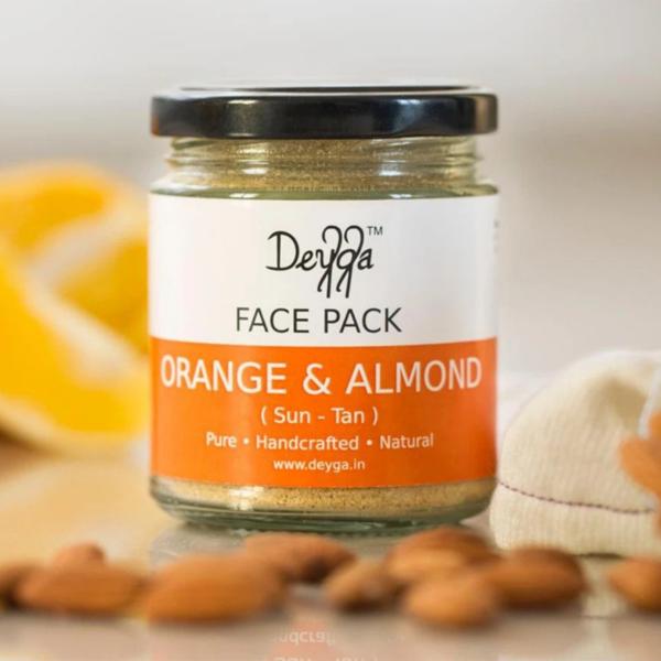 Orange & Almond Face Pack
